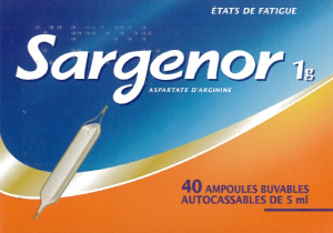 Sargenor 1 g/5 ml, solution buvable