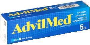 Advilmed 5%, gel