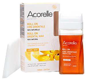 Acorelle cire orientale bio sucre & ylang roll-on/100ml+10bdes acorelle cire orientale bio sucre & ylang roll-on/100ml+10bdes
