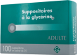 Suppositoire a la glycerine gifrer adultes, suppositoire