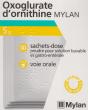 Oxoglurate ornithine mylan 5 g, poudre pour solution buvable et gastro-entérale en sachet-dose